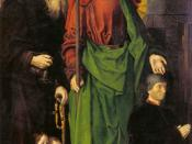Sts Anthony and Thomas with Tommaso Portinari