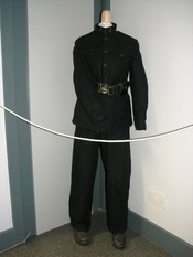 B-Specials Uniform in the Museum in Derry