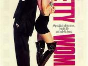 Film poster for Pretty Woman - Copyright 1990, Touchstone Pictures