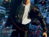 Film poster for Johnny Mnemonic - Copyright 1995, Sony Pictures