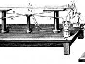 English: Fizeau-Experiment from 1851 (2)
