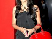 English: Indian actress Trisha Krishnan at the screening of the Bollywood movie Khatta Meetha