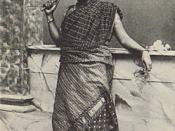 Ceylon Tamil Girl Circa 1910