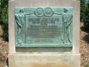 Rush-Bagot-treaty-marker in Washington, D.C.