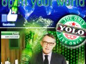 YOLO: HEINEKEN BEER GOES GLOBAL WITH FACEBOOK CROWDS