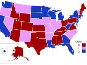 English: 107th United States Congress' Senate composition by party. Deutsch: Mitglieder im 107. Senat der Vereinigten Staaten