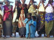 Tuareg women and children. Niger 1997.