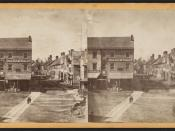 Bradley Street, New London, Conn, from Robert N. Dennis collection of stereoscopic views