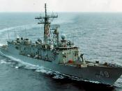 English: USS Robert G. Bradley (FFG-49)