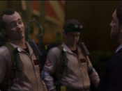 In-game likenesses of Peter Venkman, Ray Stantz, and Walter Peck. Several actors from the original movie reprise their roles in the video game.
