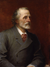 George Meredith, by George Frederic Watts (died 1904), given to the National Portrait Gallery, London in 1909. See source website for additional information. This set of images was gathered by User:Dcoetzee from the National Portrait Gallery, London websi