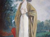 English: Marie Bonaparte (1885-1971) lives at Duino Castle, Italy Nederlands: Marie Torre e Tasso - Bonaparte