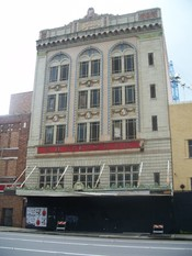 Old S. H. Kress and Company building in downtown