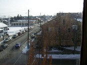 English: Downtown St. Jacobs looking south.
