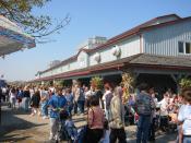 English: Farmer's market in St. Jacobs. Photo courtesy Tomas Vinar. Photo taken in October 2003.