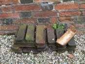 English: Any ideas? Noticed these under the tower of St James, Pangbourne. Anyone got an idea as to what they are and for?