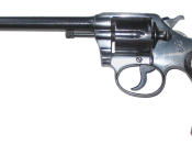 Colt Police Positive-revolver. Caliber: .32 Colt New Police (.32 Smith and Wesson Long) 6
