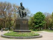 Chekhov Statue in Taganrog, 1960