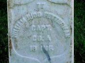 Fetterman Headstone By Phil Konstantin