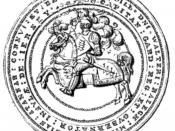 Seal of Office of Sir Walter Raleigh