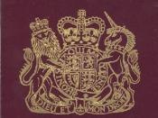 English: Passport of the Cayman Islands