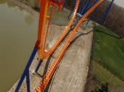 English: Behemoth , roller coaster at Canada's Wonderland. Français : Behemoth , montagnes russes à Canada's Wonderland.