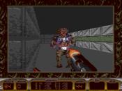 A screen of the Mega Drive port