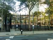 English: Entrance to Robert Moses Playground at First Avenue and East 41st Street
