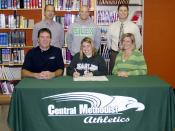 Rebecca Lipsey signs with Central Methodist