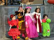 Cute Kids in Children's Costumes