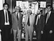 Unveiling  of the restored Phillips Machine, 29th June 1989