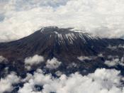 English: Mt Kilimanjaro.
