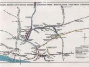 Railway Junctions in Aldgate, Bishopsgate, Haydon Square, Liverpool Street, Mansion House, Spitalfields & Whitechapel pre grouping