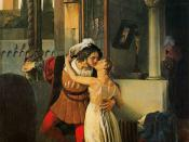 Balakirev was instrumental in creating Romeo and Juliet. Painting of same name by Francesco Hayez.