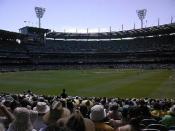 Cricket match at the MCG