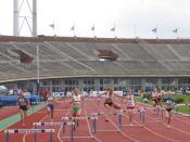 Dutch championship 2007, Amsterdam, 400 meter horden women