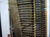 Modern model of Babbage's Analytical Engine