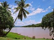 The Huallaga River in Peru