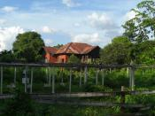 The house George Orwell stayed in while in Katha, Burma