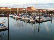 English: Maryport Marina.
