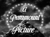 The original Paramount logo seen on 1930s movies and Popeye shorts