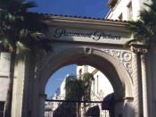 Paramount pictures famous entry door