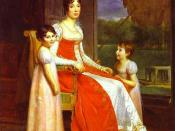 Julie Clary and her daughters