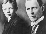 Charles A. Lindbergh: son and father c. 1910