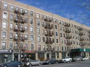 These buildings on West 135 Street were among the first in Harlem to be occupied entirely by blacks; in 1921, #135 became home to Young's Book Exchange, the first