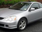 2002-2004 Acura RSX photographed in College Park, Maryland, USA. Category:Acura RSX Category:Silver coupes
