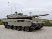 English: IDF Merkava Mk4 main battle tank עברית: טנק מרכבה סימן 4