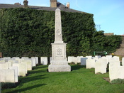 Memorial to the men of Paddington who died in the Great War in Paddington cemetery.