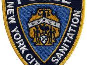 A DSNY Police Patch.