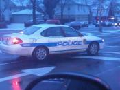 English: NYC Sanitation Police car photographed in NYC.
